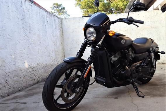 Harley-davidson Street 750 - Vendo O Permuto Por Auto!