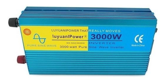 Inversor Luyuanipower 3000w Entra 24v Saída 210v Onda Pura