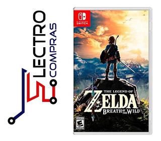The Legend Of Zelda Breath Of The Wild Para Nintendo Switch