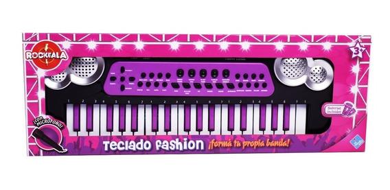 Organo Teclado Musical Con Microfono El Duende Azul 6623
