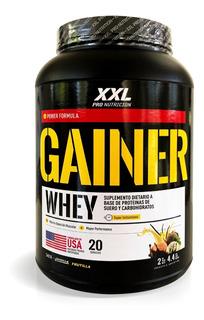 Gainer 2 Kg Xxl Pro Nutricion Ganador De Peso