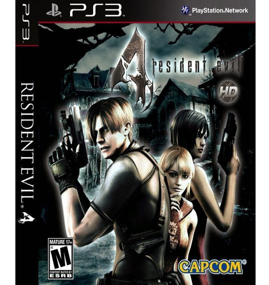 Jogo Resident Evil 4 Ps3 Psn Game Resident Evil 4 Play 3