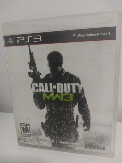 Jogo Call Of Duty Moderno Warefare 3 Mw3 Playstation 3 Ps3