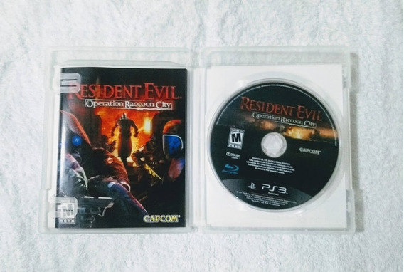 Resident Evil Operation Raccoon City Ps3 Usado Midia Fisica