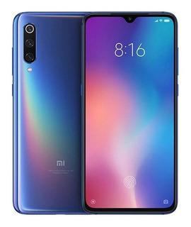 Smartphone Xiaomi Mi 9 128gb/6gb Azu Global + Fone Airdots