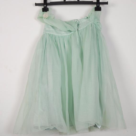 Roupa P/ Estudio Fotog-vestido Infantil Verde