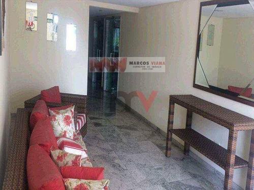 Apartamento À Venda, 78 M² Por R$ 265.000,00 - Aviação - Praia Grande/sp - Ap0322