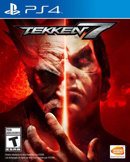 Tekken 7 - Ps4 - Novo - Midia Fisica - Lacrado