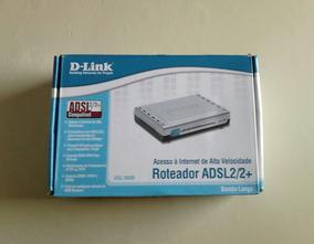 Roteador E Modem D-link Adsl2/2+