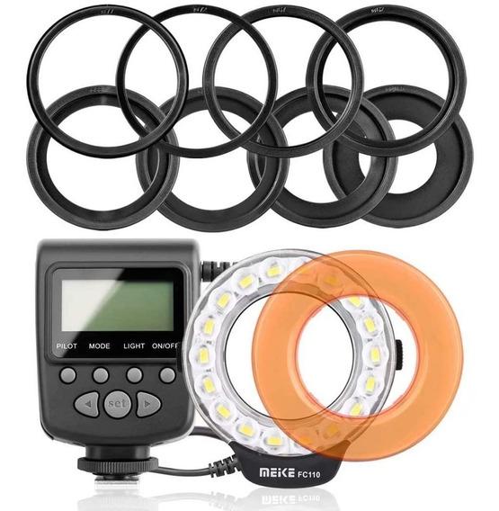 Macro Led Ring Flash Mk-fc110, Canon, Nikon, Sony, Olympus