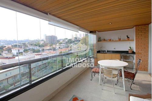 Imagem 1 de 24 de Apartamento Com 4 Dormitórios À Venda, 192 M² Por R$ 2.795.000 - Vila Madalena - São Paulo/sp - Ap18888