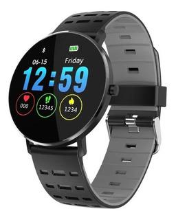 Smartwatch X-time Xtl6 Ritmo Cardiaco Malla Caucho