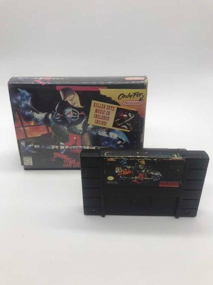 Killer Instinct Super Nintendo Snes Original Americano