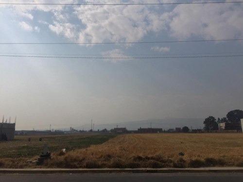 Chalco Zona Industrial: Terreno En Renta Sobre Libramiento Nuevo Con Uso De Suelo Cu200a.