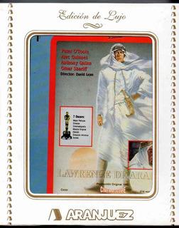 Lawrence De Arabia - 2 Vhs Edicion De Lujo Aranjuez