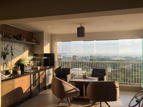 Apartamento Para Alugar, 122 M² Por R$ 4.350,00/mês - Jardim Das Indústrias - São José Dos Campos/sp - Ap4663