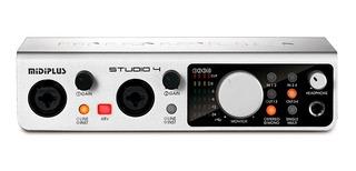 Placa De Sonido Usb Externa Midiplus Studio 4 24 Bits Cuotas