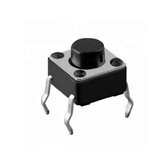Push Boton Microswitch 4 Pines 6*6*4.3mm Cdmx Electrónica