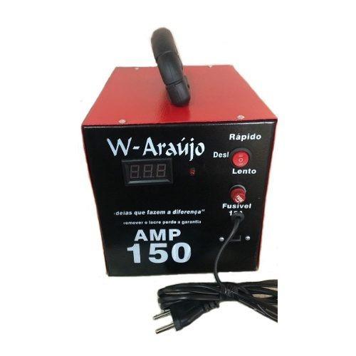 Fonte Automotiva Carregador De Bateria 150 Amp C/votimetro