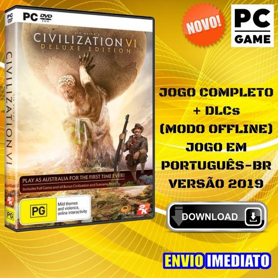 Sid Meiers Civilization Vi - Pc - Português - Jogo Digital
