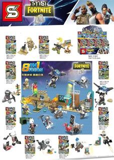 Figuras Fortnite Tipo Lego Sy 1238 X 8 Figuras Supertoys