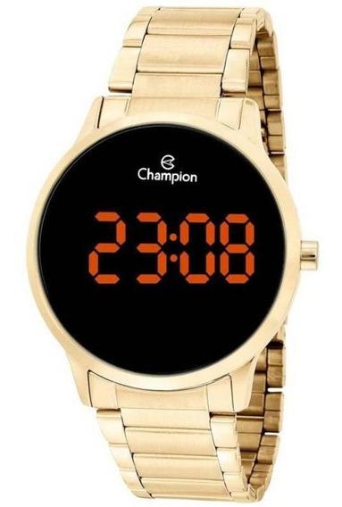 Relógio Digital Unissex Champion Ch40142j Dourado