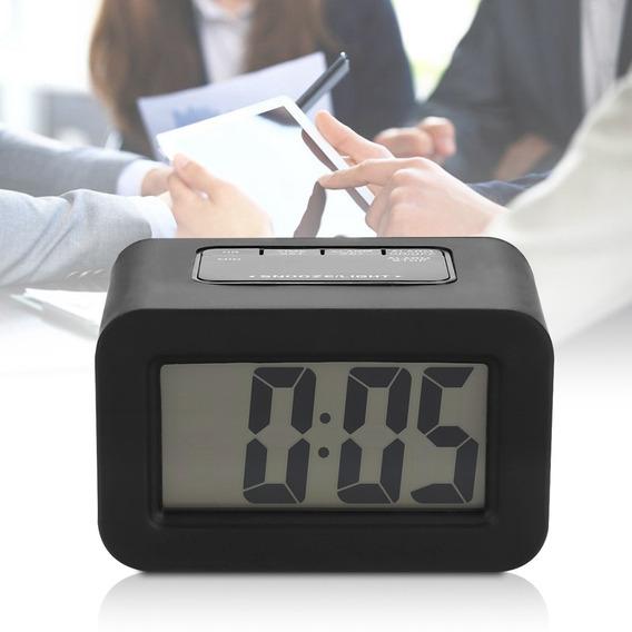 Exquisito Digital Led Mesa De Trabajo Mesa Alarma De Reloj D