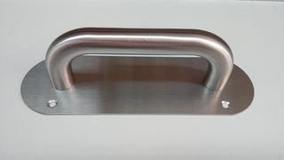 Tirador, Barra Para Puerta Principal 20x6.5cm Toolstock