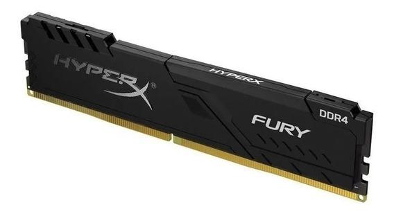 Memoria Dimm Hyperx Fury Ddr4 2666 Cl16 4gb Hx426c16fb3/4