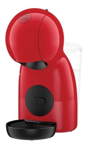 Imagen 1 de 3 de Cafetera Nescafé Moulinex Dolce Gusto Piccolo XS de corte manual red para cápsulas monodosis 220V