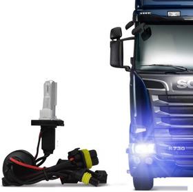 Lampada Xênon Caminhão 24 Volts H4-2 6000k/8000k Reposição