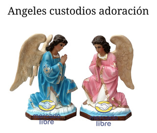 Angeles Custodios Adoración 65cm