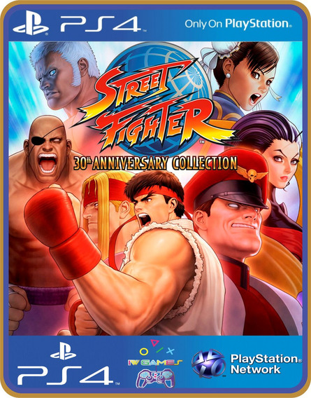 Ps4 Street Fighter 30th Anniversary Collection | Original 1