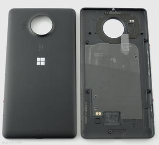 Tampa Traseira Nokia Lumia 950 Xl Preto + Frete Grátis