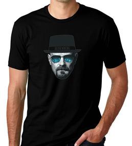 Camiseta Preta Breaking Bad Série Heisenberg White Break 5