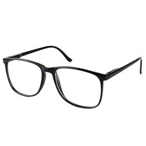 b6f2a59eb Oculos De Grau Quadrado Grande Preto - Óculos no Mercado Livre Brasil