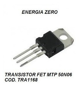 Transistor Fet Mtp 50n06 Cod. Tra1168 Frete Cr