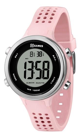 Relógio X Games Feminino Xfppd069 Bxrx Rosa - Refinado