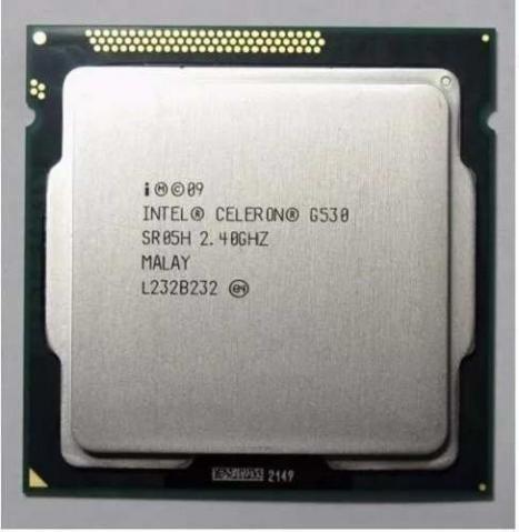 Processador Intel 1155 Celeron G530 2.40ghz 2mb