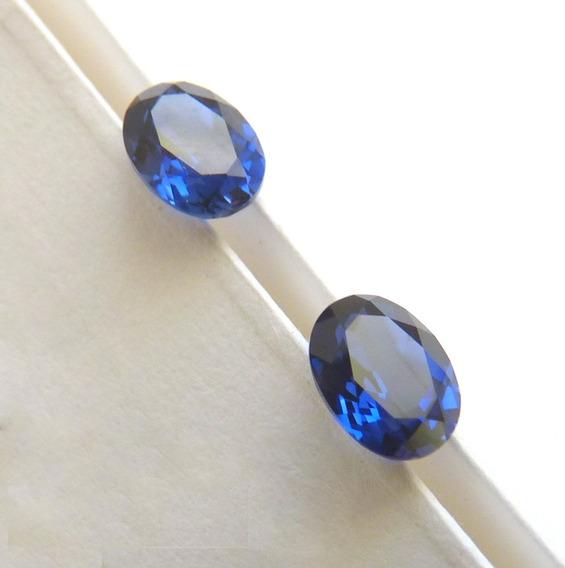 Safira Pedra Preciosa Safira Azul Safira 8x6 Mm 3040