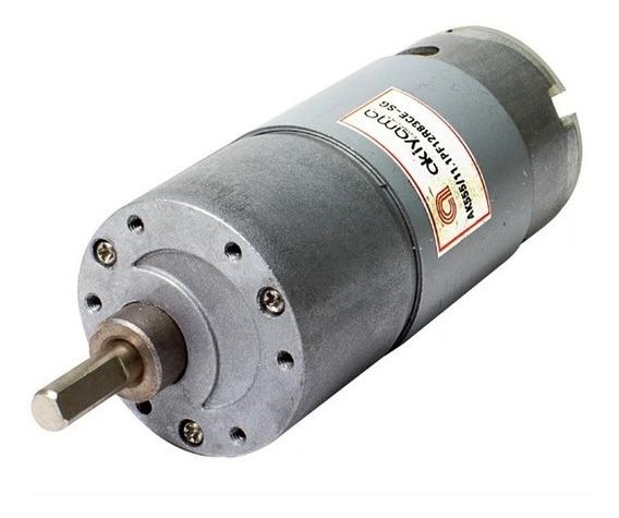 O Micro Motor Dc C/ Cx Red. Ak555/11.1pf12r83ce 83rpm