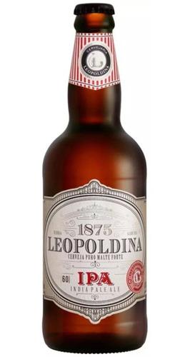 Imagem 1 de 3 de Cerveja Leopoldina Ipa 500ml 60 Ibu World Beer Awards 2018