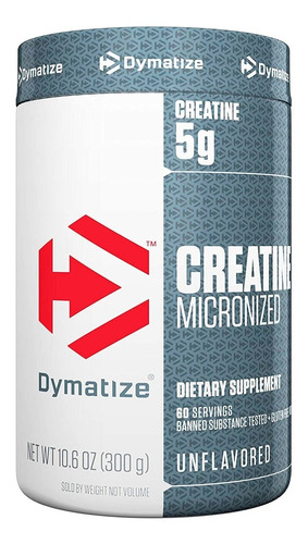 Creatina Micronizada Dymatize 300g Original Promoção V Longa