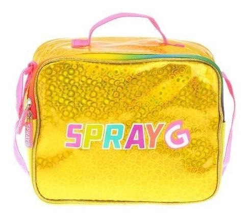 Lonchera Escolar Holográfica Spray G 6085