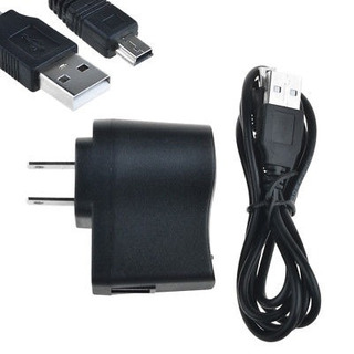 Cargador De Pared Ac Adaptador + Usb Cable Para Gps Garmin