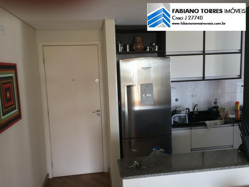 Apartamento Para Venda Em São Bernardo Do Campo, Vila Goncalves, 2 Dormitórios, 1 Banheiro, 1 Vaga - 1420_2-595761