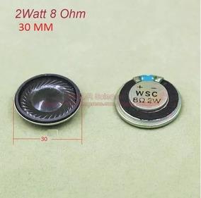 1 Mini Alto Falantes 30mm 2 Wats Rms 8 Ohms Frete R$ 10,00