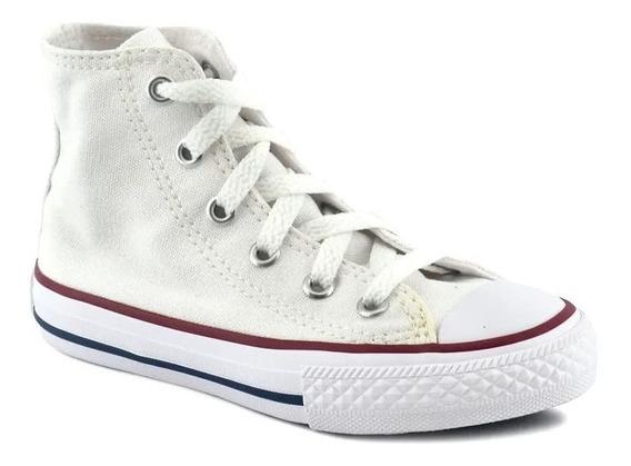 Zapatilla Converse All Star Hi Baby 756999 Blanco Infantil