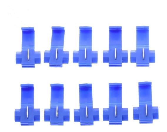 Conector Derivação Emenda Cabos Fios 1,5 A 2,5mm (50 Pçs)