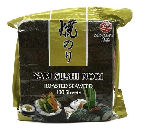 Algas Para Sushi X100 Hojas